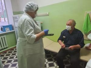 В Кинель-Черкасском районе проводится массовая вакцинация