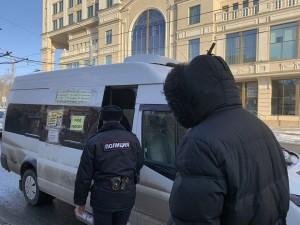 Усилен контроль за соблюдением масочного режима в общественном транспорте Самары