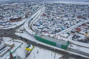 Бетонирование путепровода развязки Самарского моста завершено