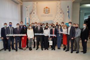 8 февраляв День российской науки Правительство Самарской области стало площадкой для диалога молодых ученых и исследователей.