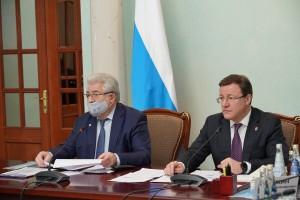 Дмитрий Азаровпринял участие в первом в этом году заседании Совета ректоров вузов Самарской области.