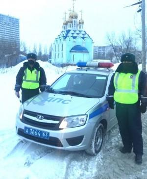 В Самаре полицейские помогли оперативно доставить беременную женщину в больницу