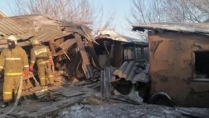 В Самарской области жилой дом обрушился после взрыва газа