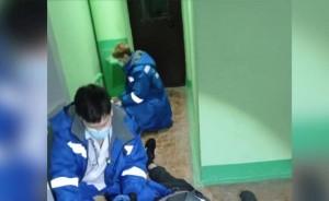В Тольятти спасатели вытащили мужчину, застрявшего в решетке