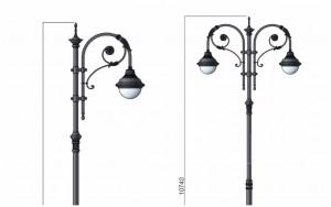 В Самаре установят 72 новых уличных фонаря
