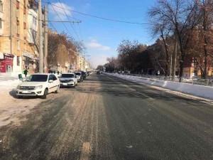 В Самаре на ул. Победы водитель сбил пешехода