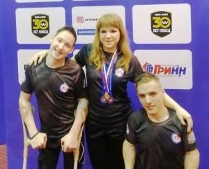 В соревнованиях принимали участие представители Самарской области.