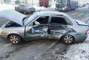 В Самаре в ДТП пострадали два водителя