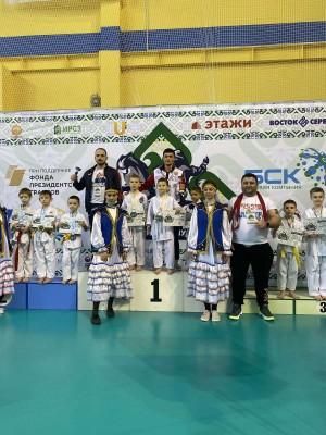 У самарских спортсменов 7 медалей.