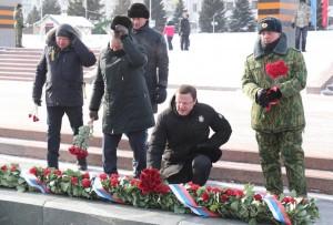Сегодня торжественные мероприятия, посвящённые Дню защитника Отечества, проходят по всей области.