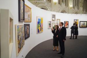 В художественном музее открылась выставка Передовой отряд. Сто лет авангарда в Самаре