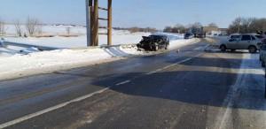 Пострадала пассажирка одного из автомобилей.