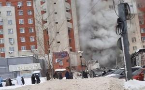 В городской администрации также сообщили, что несущие конструкции дома не пострадали.