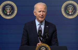 """По словам американского лидера, Вашингтон продолжает считать, что полуостров вернулся в состав РФ якобы с """"нарушением международного права""""."""