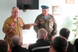 В ИК-16 УФСИН России по Самарской области проведены «уроки мужества» с участием ветеранов боевых действий