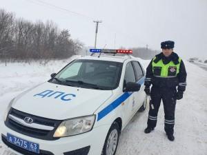 Сотрудник ГИБДД в Самарской области спас более 10 человек