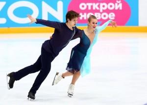 Тольяттинцы Ангелина Лазарева и Максим Прокофьев завоевали бронзу.