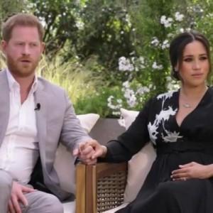 Интервью принца Гарри и Меган посмотрели свыше 17 млн человек