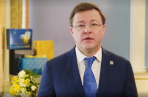 Дмитрий Азаров поздравил женщин Самарской области с 8 марта