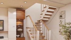 Лестница в современном многоуровневом доме является не только неотъемлемым функциональным атрибутом, но и частью интерьера, подчеркивающей его стиль.