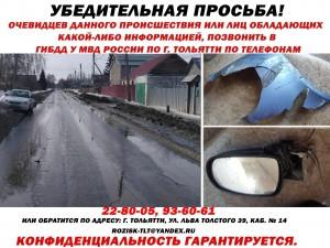 В Тольятти ищут водителя, сбившего женщину