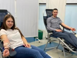 Самарские волонтеры-молодогвардейцы станут донорами плазмы и крови