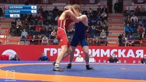 В Хабаровске проходит первенство России по греко-римской борьбе среди юниоров до 21 года.