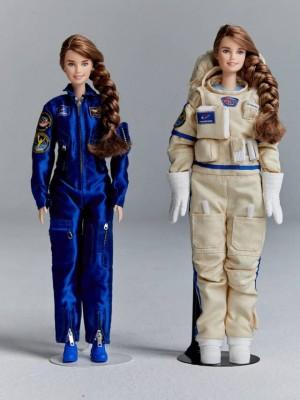 Россиянка-космонавт стала моделью для куклы Барби