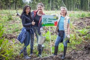 Волонтеры, сажающие лес, могут получить денежную премию