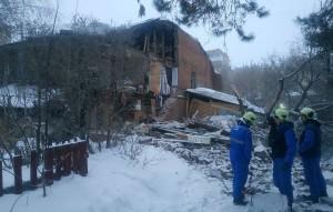 В Самаре рухнула несущая стена старинного дома