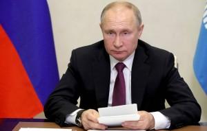 Российский лидер пожелал американскому здоровья.