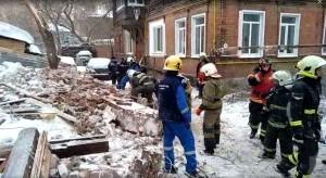 Стена дома в Самаре могла рухнуть из-за прорыва