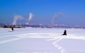 Обзор ледовой обстановки на реках Самарской области.