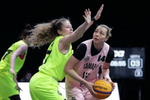 Матчи пятого тандема чемпионата России по баскетболу 3х3 состоялись в Самаре