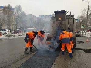 В Самаре аварийно-ямочный ремонт дорог провели на 68% из мартовского плана