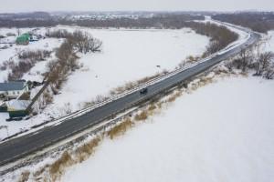 В Большеглушицком районе Самарской области отремонтируют 16 км дороги с применением технологии холодной регенерации