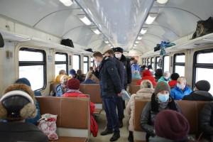Рейд показал, что большинство пассажиров соблюдают меры безопасности и носят маски.
