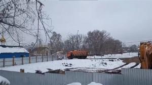 На участке самарского ботсада церковь начала строительство