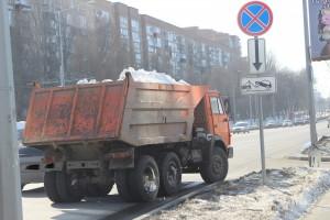 Уборка дорог от снега в Самаре - самая дорога в ПФО