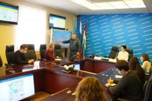 Сегодня в ГУМЧС СО состоялась пресс-конференция начальника Главного управления генерал-майора внутренней службы ОлегаБойко.
