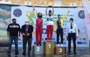 Самарская спортсменка выиграла серебро чемпионата Европы по велоспорту-шоссе