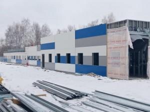 В Тольятти на территории медгородка наполовину установили металлоконструкции корпусов для пациентов с COVID-19