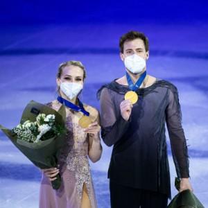 Виктория Синицина и Никита Кацалапов на чемпионате мира победили в танцах на льду