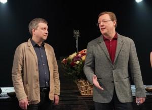 В театре-студии «Грань» состоялось торжественное мероприятие, посвященное сразу двум событиям: Международному дню театра и 50-летию новокуйбышевкого тетра.