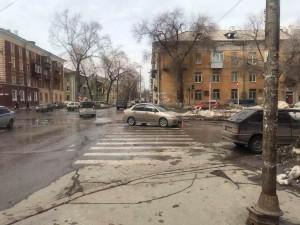 Машина сбила двух девочек на ул. Физкультурной в Самаре