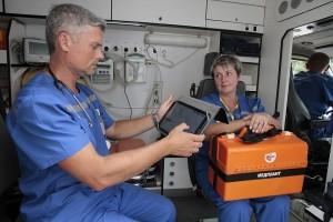 Система дает диспетчерам всю необходимую информацию для оперативного определения срочности вызова, быстрого и точного направления бригады.