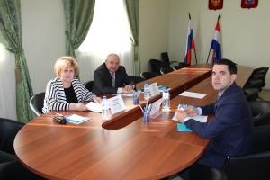 Состоялась рабочая встреча УПЧ в Самарской области с директором ООО «ЭкоСтройРресурс»