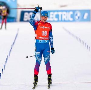 Самарский биатлонист завоевал бронзу в Ханты-Мансийске