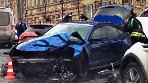 По данным источника в правоохранительных органах, пострадавшая - консультант Госдумы Мария Артемова.