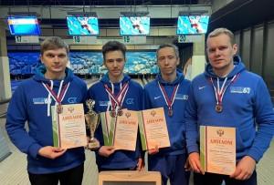 Самарские спортсмены - призеры чемпионата России по боулингу (спорт глухих)